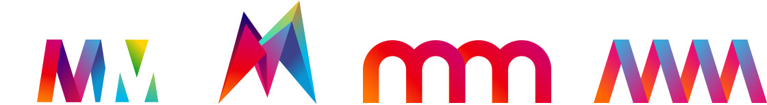 Mensch und Mouse, Logoentwürfe
