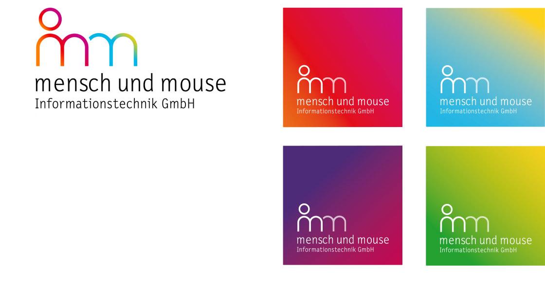 Mensch und Mouse, Logo